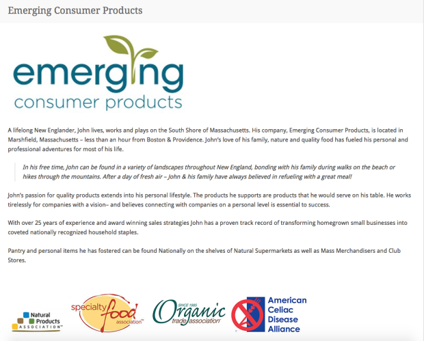 Emerging Consumer Products Group