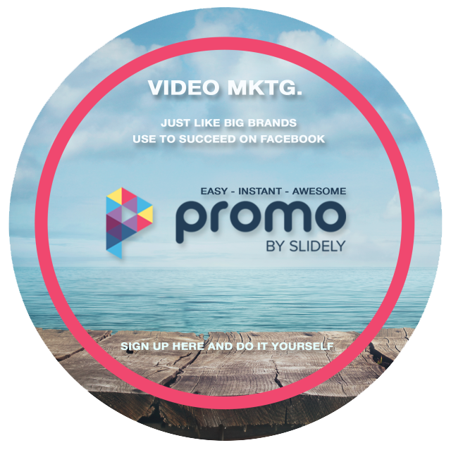 Sign up for Promo, the breakthrough video service from Slidely